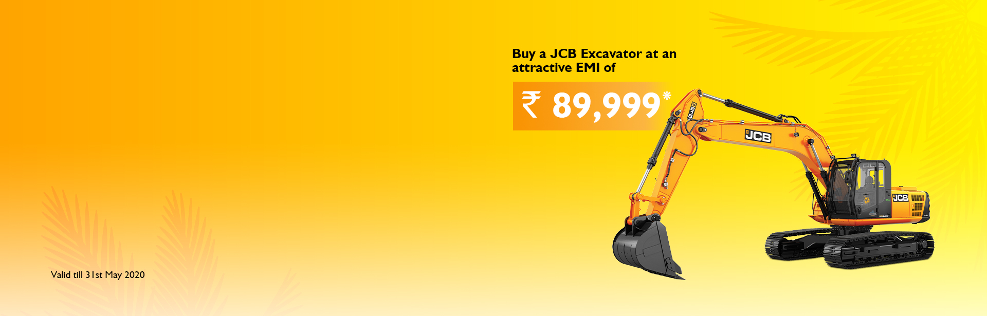 Excavator Mega Summer Offer Guwahati Oja Earthmovers JCB